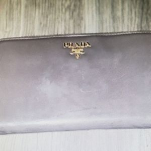 Prada Zip Around Long Wallet